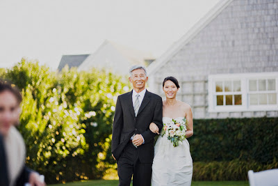 Casual Backyard Nantucket Wedding