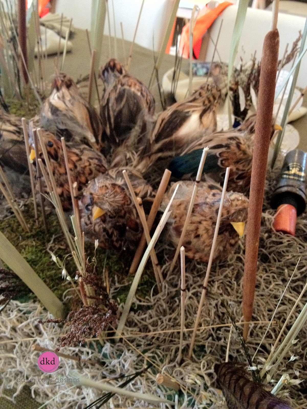 Duck Hunting Birthday Party Soiree Floral