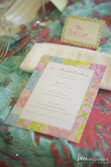Lilly Pulitzer Bridal Shower