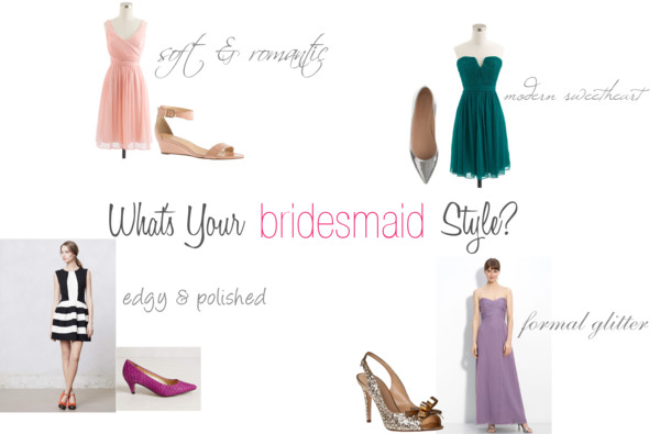 What's Your Style? – Bridesmaids