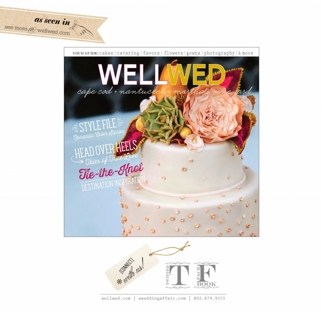 A Styled Bridal Shoot Featured in Wellwed Magazine