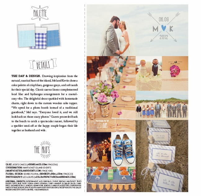 Galley Beach Wedding Featured in Wellwed Magazine
