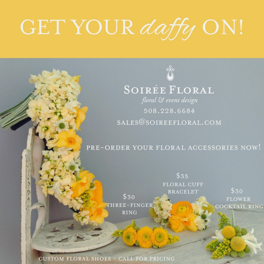 Nantucket Daffodil Festival – Floral Accessories by Soirée Floral