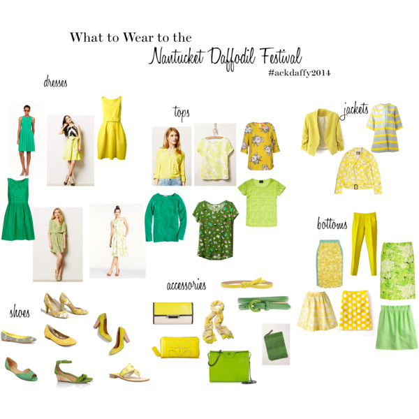 Nantucket Daffodil Festival – What to Wear
