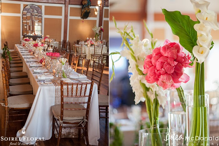 Great Harbor Yacht Club Wedding Featured on Classic Bride Blog
