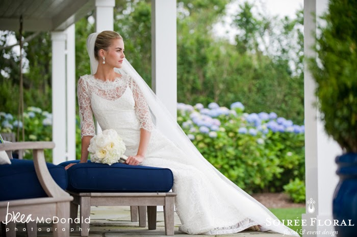 Throw Back Thursday – A Great Harbor Yacht Club Wedding with Soirée Floral and Brea McDonald Photography