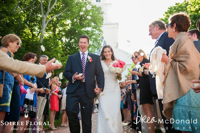 Sneak Peek – Nantucket Wedding at a Private Home with Soirée Floral and Brea McDonald Photography