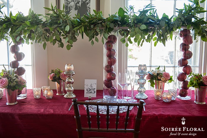 Holiday Tablescapes with Soirée Floral – Part 2