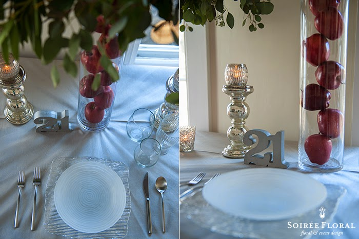 Holiday Tablescapes with Soirée Floral – Part 3