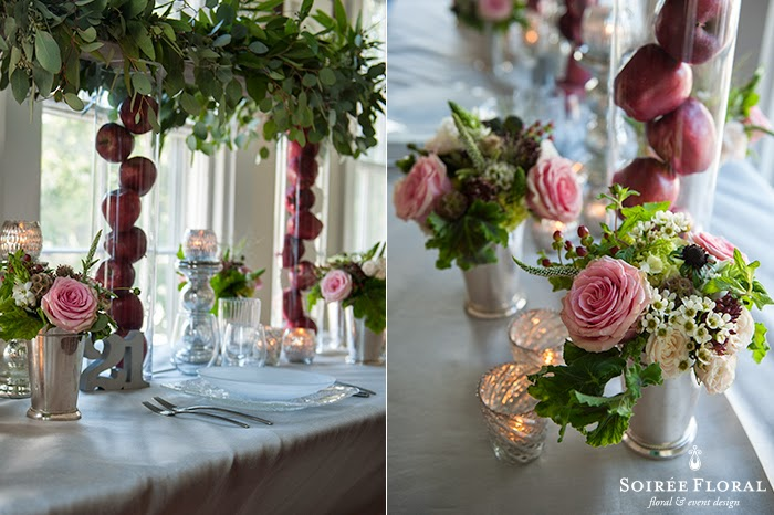 Holiday Tablescapes with Soirée Floral – Part 4