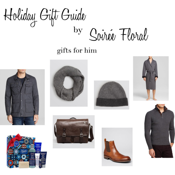 Holiday Gift Guides by Soirée Floral – Gifts for Him with Bloomingdale's