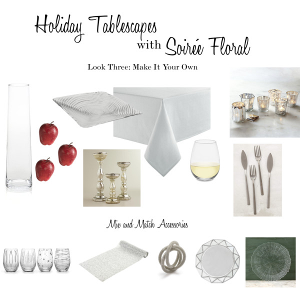 Holiday Tablescapes with Soirée Floral - Look Three