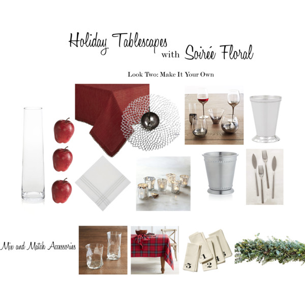 Holiday Tablescapes with Soirée Floral - Look Two
