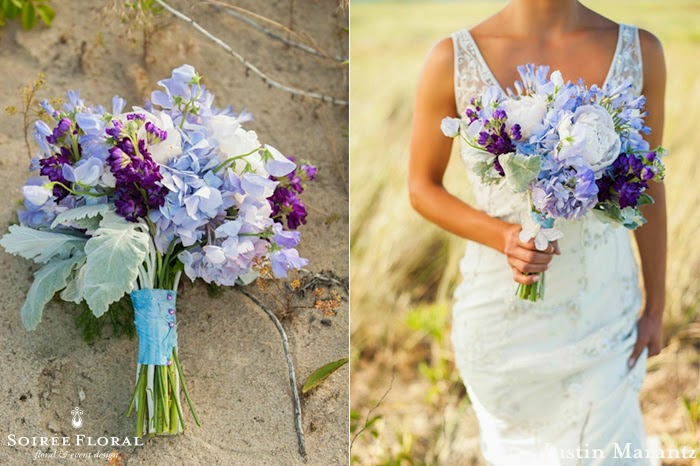 Throw Back Thursday – Bouquets Infused with Lucite Green by Soirée Floral
