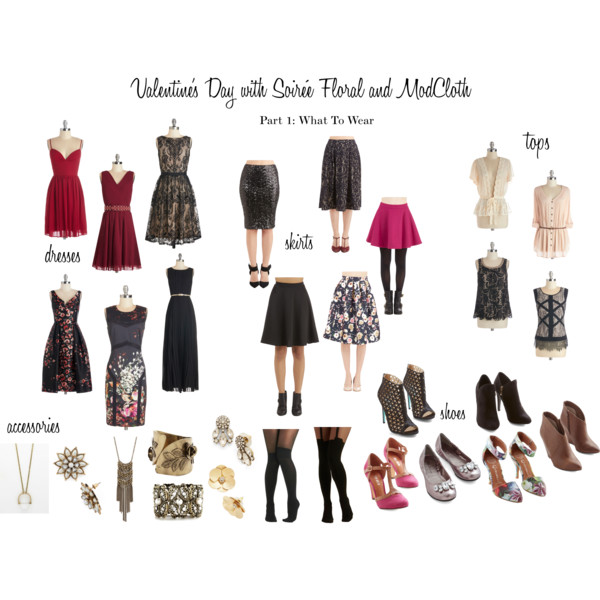 Valentine's Day with Soirée Floral – Part 1: What to Wear with ModCloth