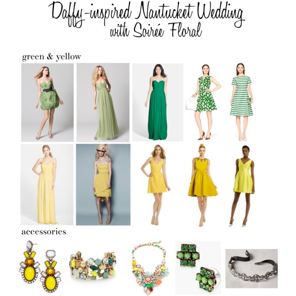 Daffy-inspired Nantucket Wedding Inspiration