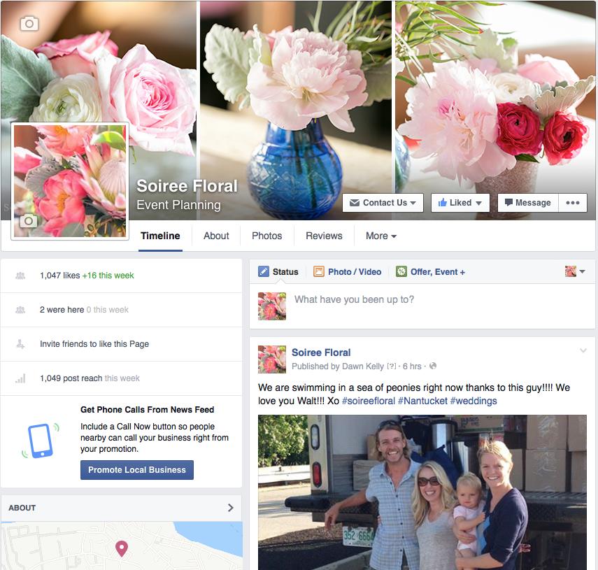 Social Media Week with Soirée Floral