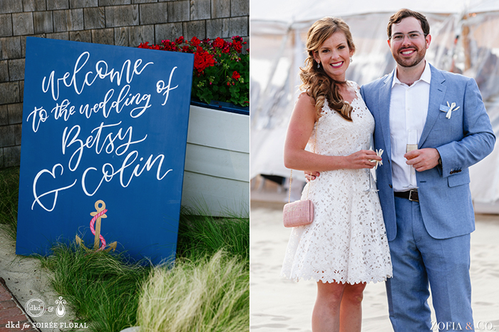 Nantucket Rehearsal Dinner at Galley Beach with Zofia & Co. Photography