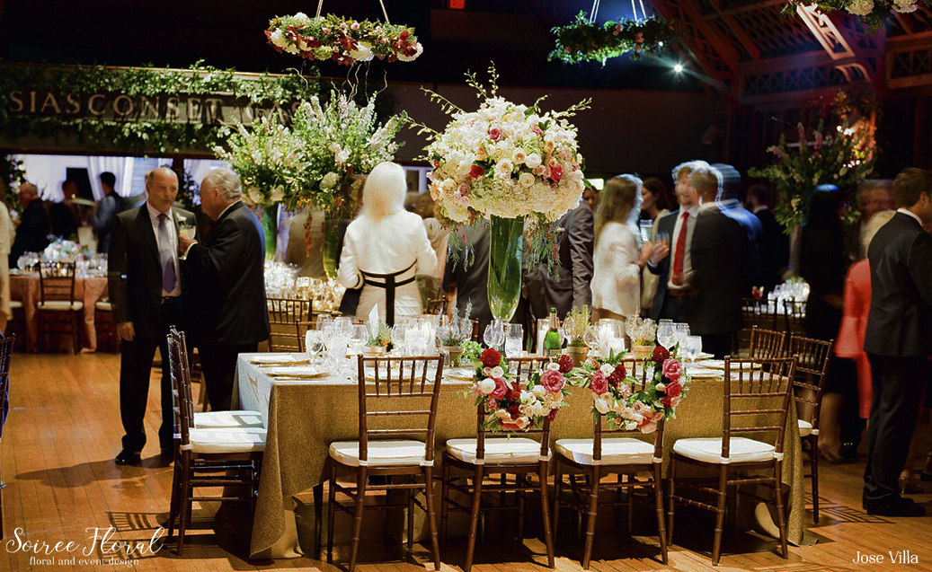Jose Villa Nantucket Wedding Soiree Floral 11
