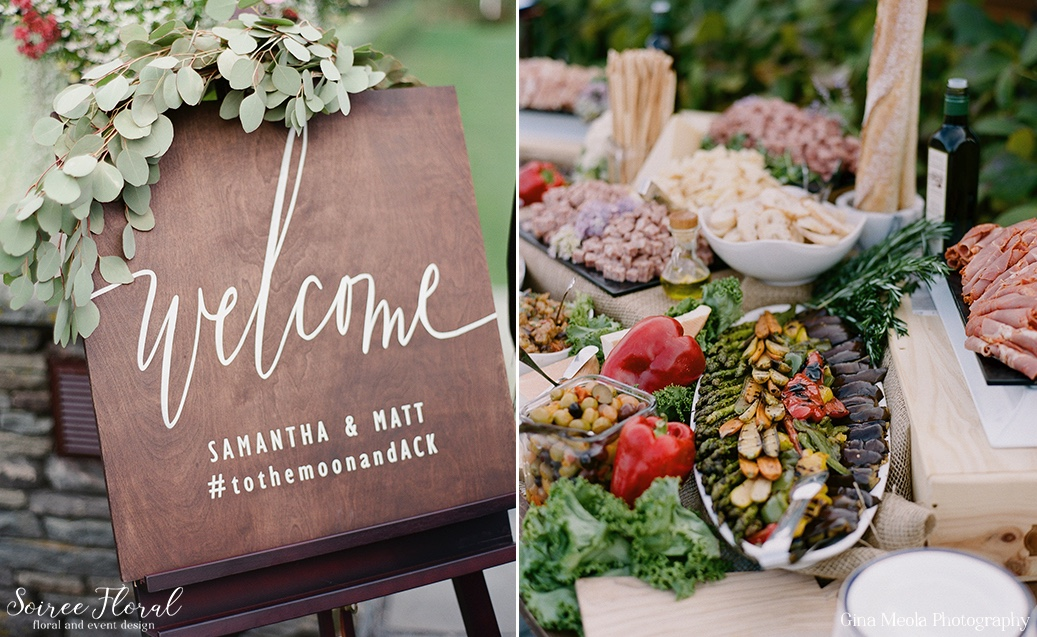 Custom Wedding Welcome Sign Dawn Kelly Designs Nantucket 4