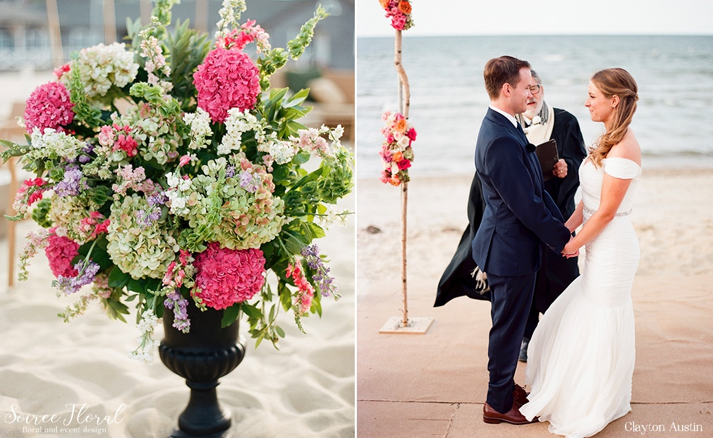 Nantucket Beach Wedding Galley Beach Clayton Austin Soiree Floral5