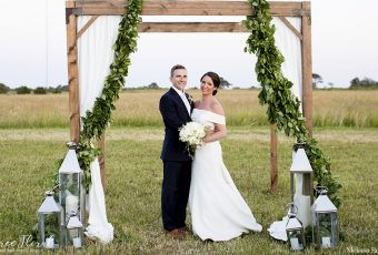 Bartlett's Farm Wedding Ceremony