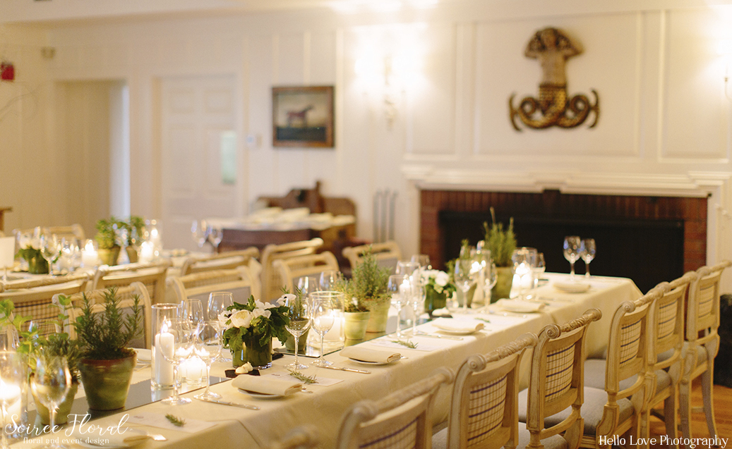 potted-herbs-and-mirrored-runners-soiree-floral-nantucket