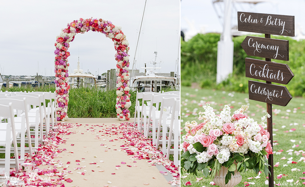 Soiree Floral Design and Decor Nantucket Wedding1