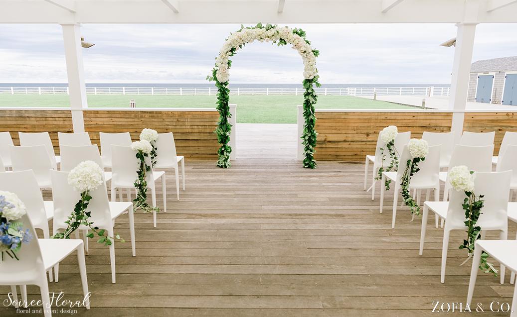 Blush Blue and Green Nantucket Wedding1