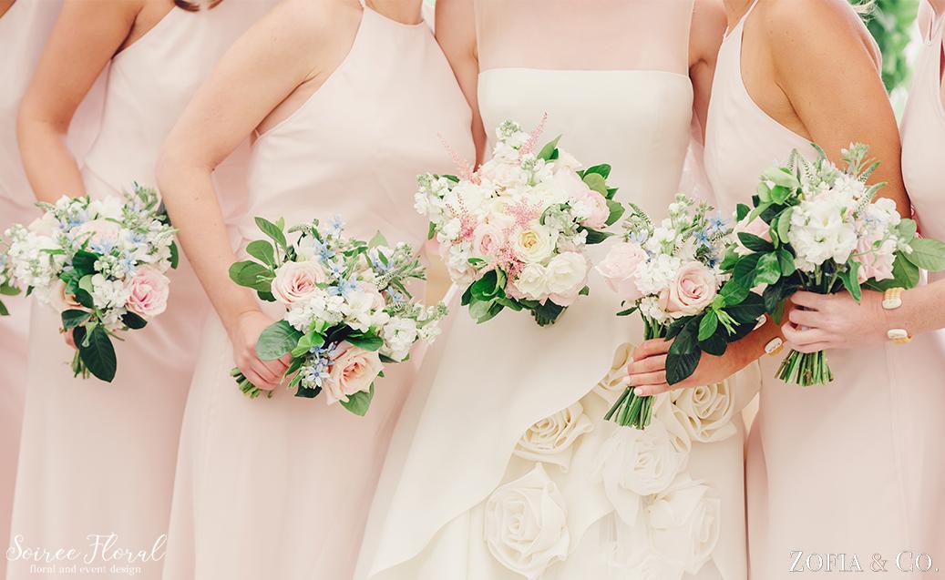 Blush Blue and Green Nantucket Wedding6