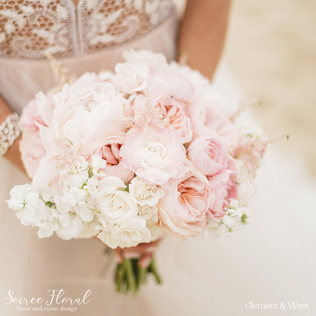blush garden rose bouquet - Blush Garden Rose Bouquet