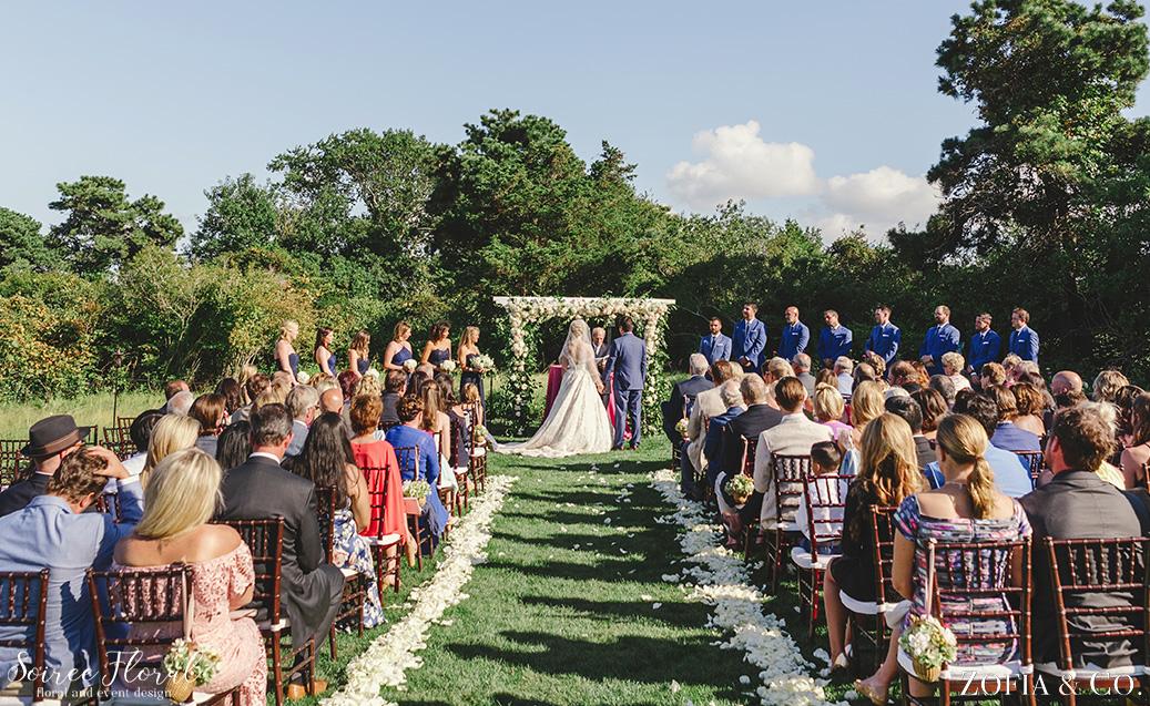 Garden Arch Outdoor Ceremony