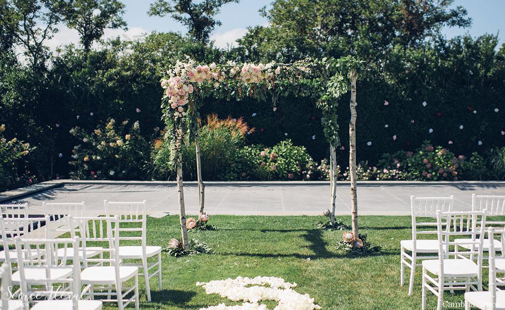 Moody Fall Nantucket Wedding Sconset Casino2