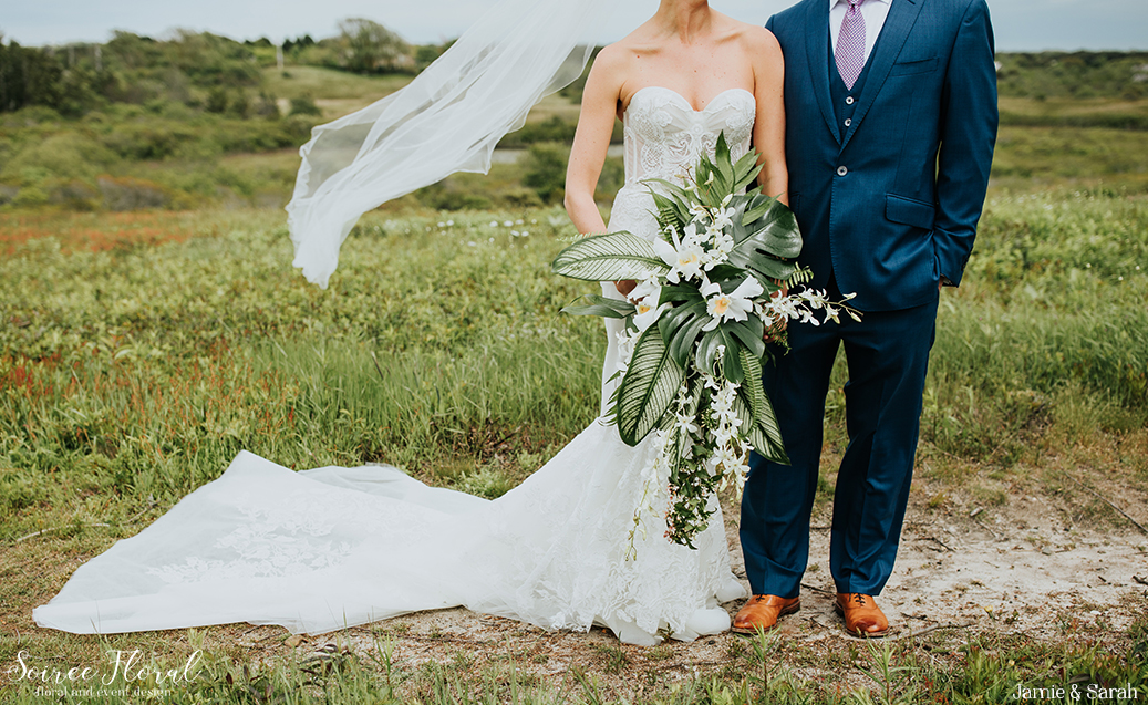 Tropical Inspired Nantucket Wedding11