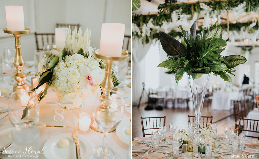 Tropical Inspired Nantucket Wedding15
