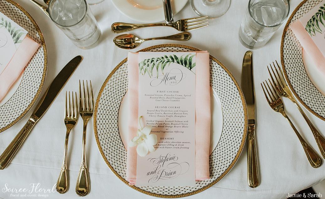 Tropical Inspired Nantucket Wedding18