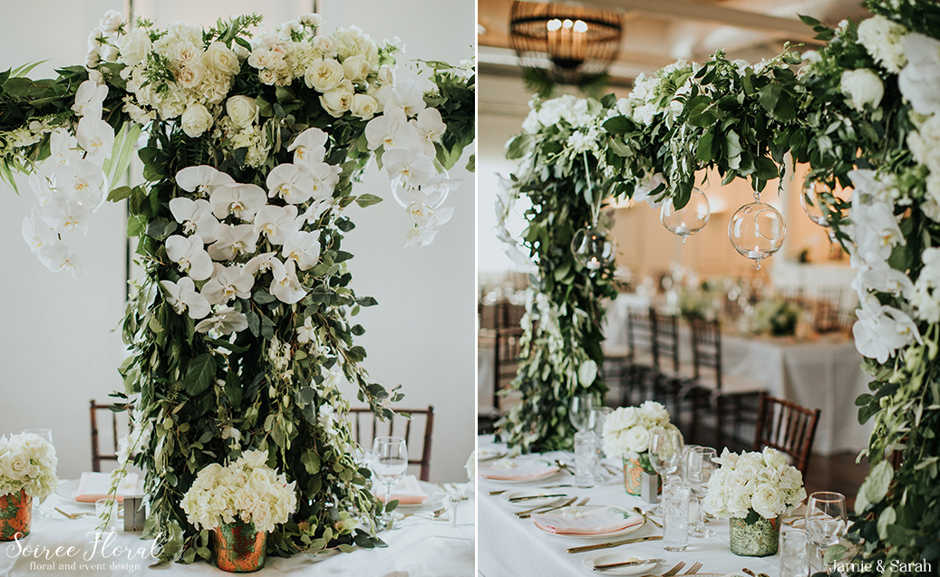 Tropical Inspired Nantucket Wedding20