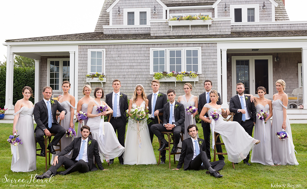 Bridal Party Portrait – Nantucket Wedding