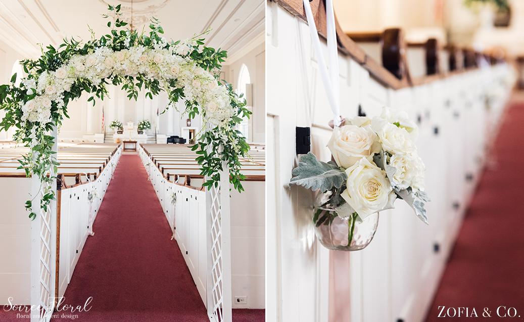 First Congregational Church – Nantucket Wedding