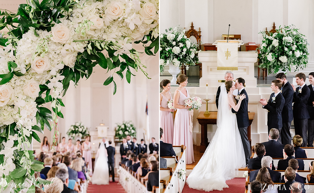 First Congregational Nantucket Wedding Ceremony