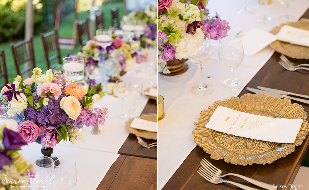 Lush Compote Centerpieces – Nantucket Westmoor Club Wedding