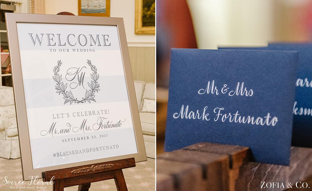 Nantucket Wedding Sign – Soiree Floral