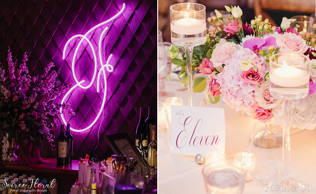 Pink Wedding – Custom Neon Light – Nantucket Wedding