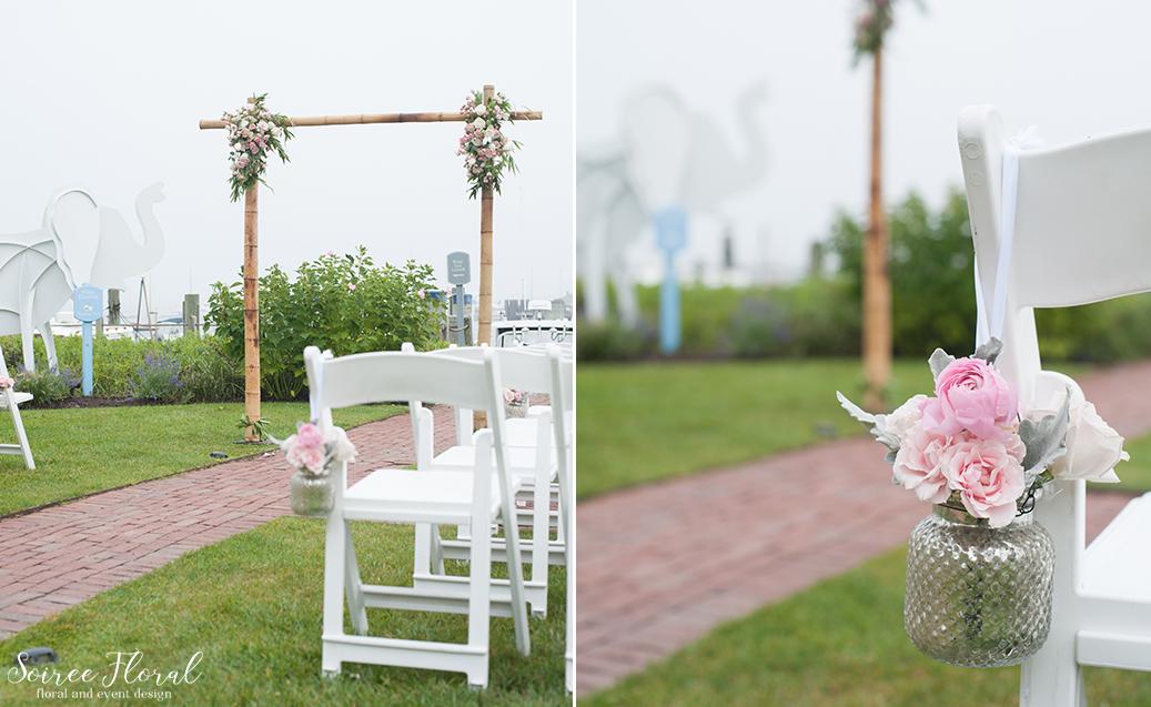 Pink Wedding Flowers – Nantucket Florist
