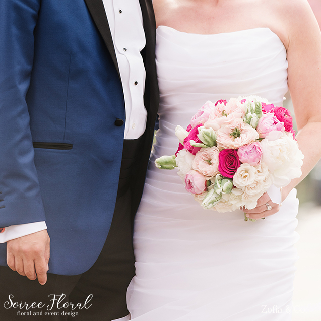 Pink and Blush Spring Bouquet