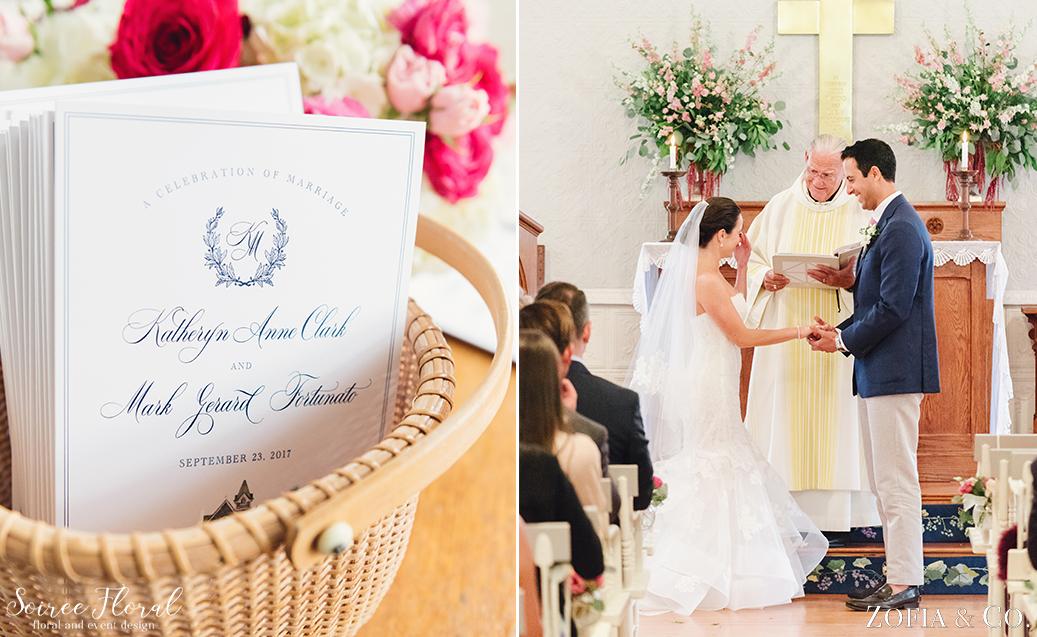 Sconset Chapel Wedding – Soiree Floral