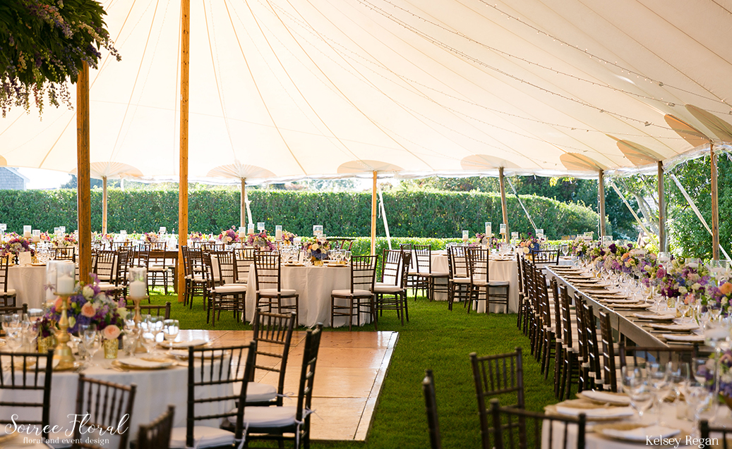 Tented Nantucket Wedding – Westmoor Club