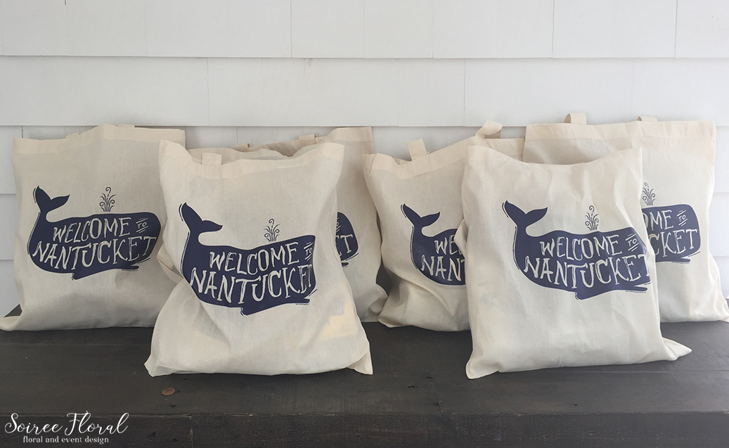 Nantucket Welcome Tote – Soiree Floral