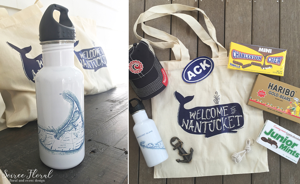 Welcome to Nantucket – Whale Gift Tote