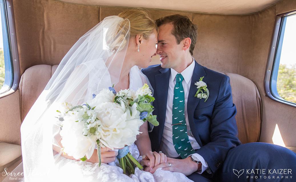 Summer Wedding Bouquet – Peonies Hyacinth Muscari – Nantucket wedding